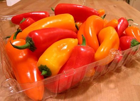 Korean Pickled Peppers